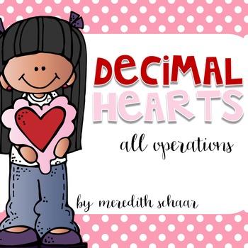Decimal Hearts - All Operations
