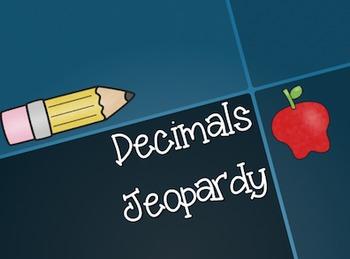 Decimal Jeopardy Game!
