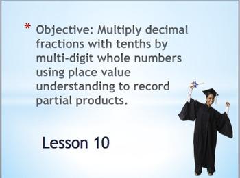 Decimal Multi-Digit Multiplication