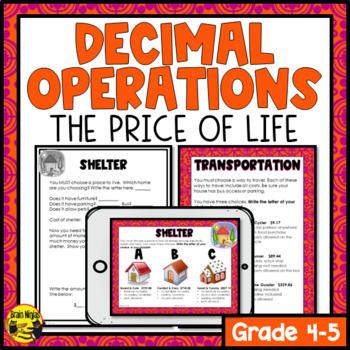 Decimal Addition & Subtraction to Hundredths