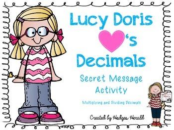 Decimal Operations Secret Message