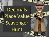 Decimal Place Value and Ordering Numbers Scavenger Hunt