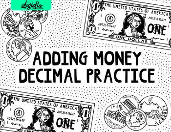 Decimal Practice with Money