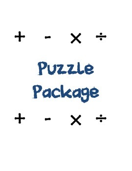 Decimal Puzzle Bundle