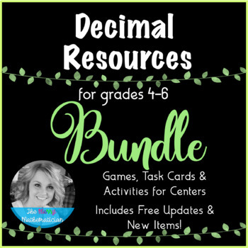 "Decimal Resources ""Forever"" Bundle (Games, Activities, & T"