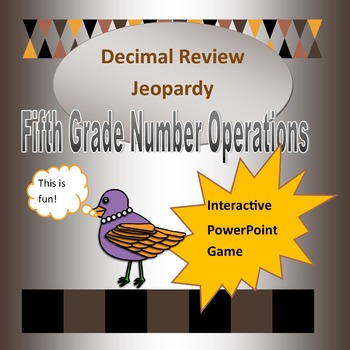 Decimal Review Game for Fifth Grade