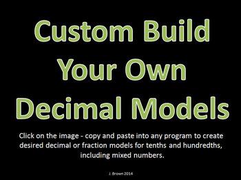 Decimal and Fraction Custom Models