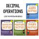 Decimal Worksheets Bundle w/ Rounding Decimals, Place Valu