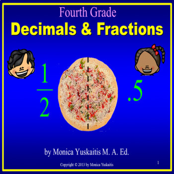 Common Core 4th - Decimals & Fractions