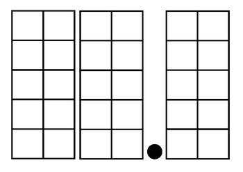 Decimals Grid Template