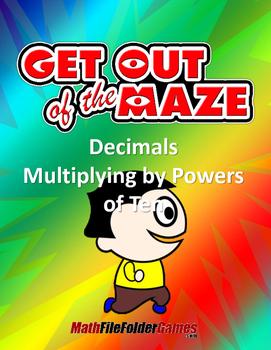 Decimals - Multiplying by Powers of Ten