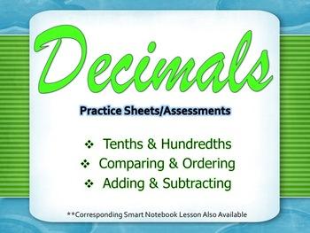 Decimals- Practice/Assessments