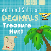 Add and Subtract Decimals Fun Activity
