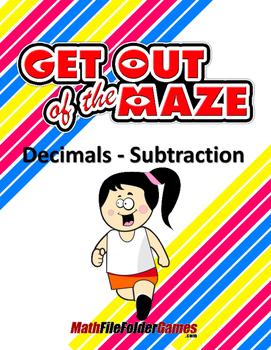 Decimals - Subtraction