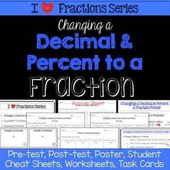 Converting Decimals and Fractions Unit