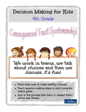 Decision Making for Kids: 4th Grade Lesson Plans