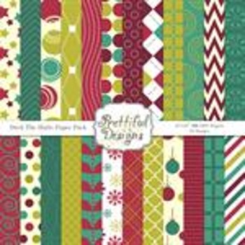 Deck The Halls Paper Pack