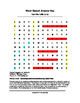 Deck the Halls Lyrics Word Search (Grades 2-5)