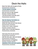 Deck the Halls Poem