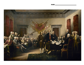 Declaration of Independence Callouts