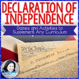 Declaration of Independence- Games and Activities to Suppl
