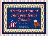 Declaration of Independence Puzzle Activity