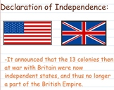 Declaration of Independence - Smartboard Lesson