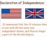 Declaration of Independence - Smartboard Lesson
