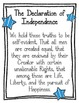 Declaration of Independence Worksheets. Puzzle. Poster. In
