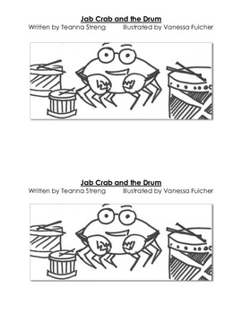 Decodable Guided Reading Book with Consonant Blends- Jab C