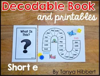 Decodable Book: short e