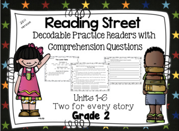 Decodable Practice Phonics Readers with Comprehension  Rea