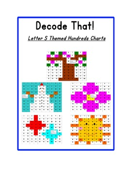 Decode That! Letter S Hundreds Chart Series
