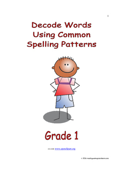 Decode Words Using Common Spelling Patterns: Introduce/Pra
