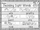 Decoding Sight Words - Primer