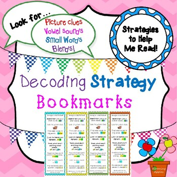 Bookmarks: Decoding Strategies for Struggling Readers with