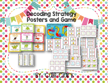 Decoding Strategy Posters and Game