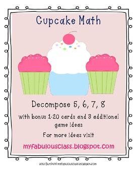 Cupcake Math - Make 5, 6, 7, 8, 9, 10