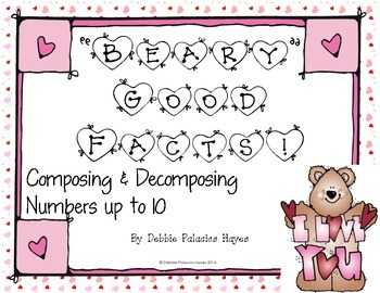 """Decompose Numbers: """"Beary Good Facts"""" Combinations up to 1"""