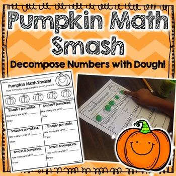 Decomposing 5: Pumpkin Math Smash