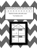 Decomposing Fact Families With Unifix Cubes