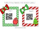Decomposing Fractions- Holiday Write the Room QR edition!