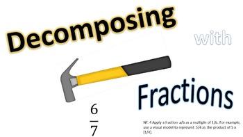 Decomposing Fractions PowerPoint Bundle