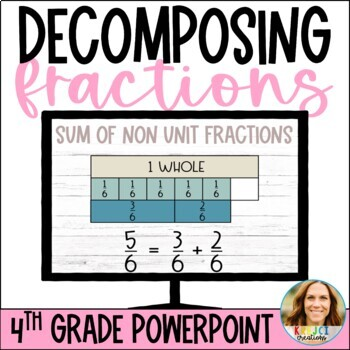 Decomposing Fractions and Mixed Numbers Into Unit and Non-