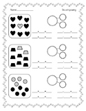 Decomposing Numbers 1-20, Fact Families worksheets