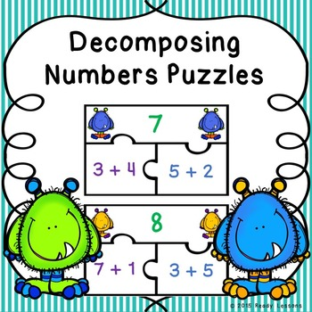 Composing and Decomposing Numbers Game Puzzles for Number