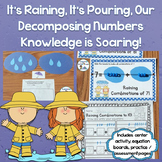 Decomposing Numbers 3-10 Center, Practice Pages, Equation