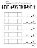 Decomposing Numbers -> 4, 5, 6