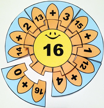 Decomposing Numbers Addition Puzzles - Numbers 16-20