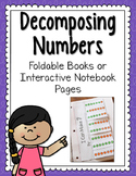 Decomposing Numbers Fold-and-Flip Books